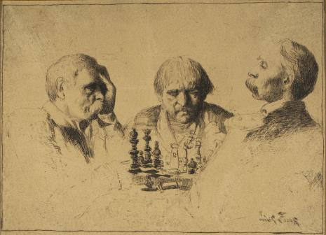 Ludwik Stasiak, Partia szachów