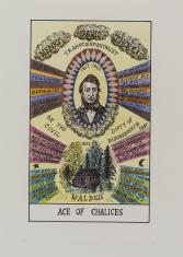 HEXEN 2.0/Tarot/Ace of Chalices - Henry Thoreau / HEXEN 2.0/Tarot/As Kielichów - Henry Thoreau