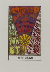 HEXEN 2.0/Tarot/Two of Chalices - Summer of Love / HEXEN 2.0/Tarot/Dwójka Kielichów - Lato Miłości