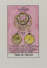 HEXEN 2.0/Tarot/Three of Chalices - The Astrolabe / HEXEN 2.0/Tarot/Trójka Kielichów - Astrolabium