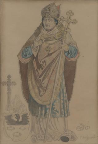 Jan Matejko, Biskup Piotr Gamrat