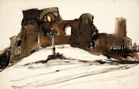 Stanisław Noakowski, Ruiny zamku