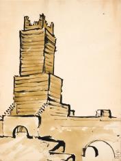 Wieża przy moście