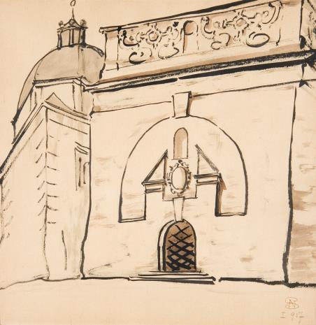 Stanisław Noakowski, Kaplica renesansowa z portalem