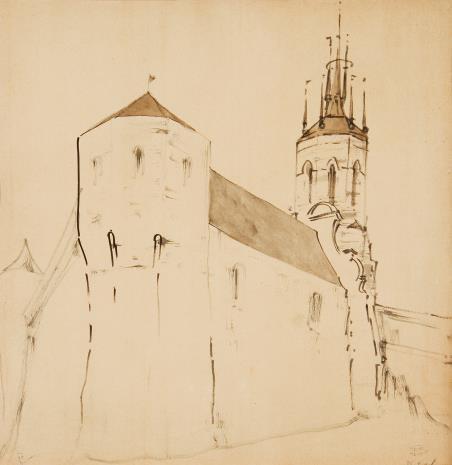 Stanisław Noakowski, Budowla obronna i wieża kościelna