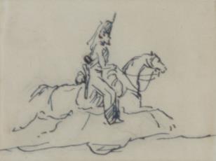 Żołnierz na koniu