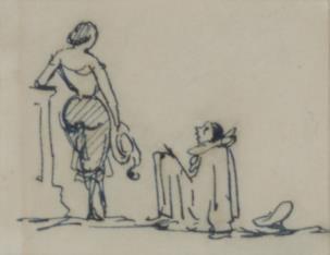 Kobieta z pierrotem