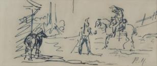 Żołnierze i konie