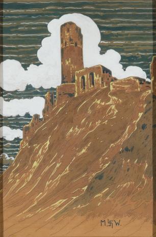 Marian Wawrzeniecki, Zamek na skale