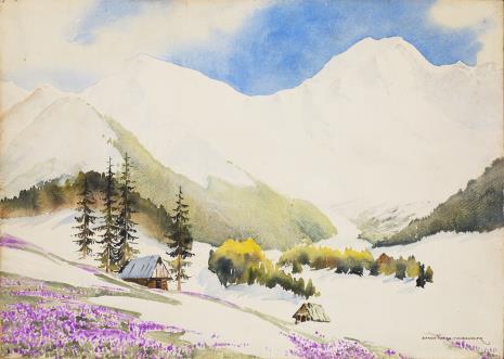Wanda Anna Gentil - Tippenhauer, Wiosna w Tatrach