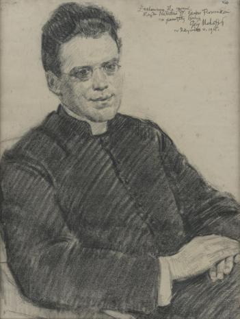 Józef Mehoffer, Portret księdza prałata Józefa Florczaka