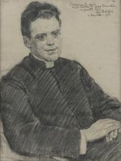 Portret księdza prałata Józefa Florczaka