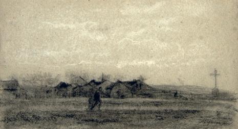 Maksymilian Gierymski, Wieś