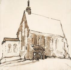 Kościółek gotycki
