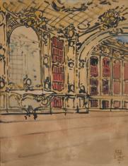 Rokokowa biblioteka pałacowa