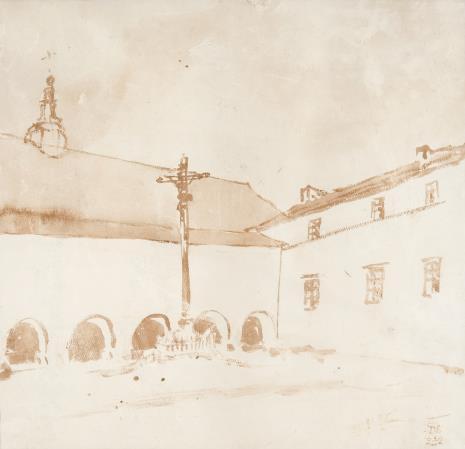 Stanisław Noakowski, Barokowy kościół i klasztor