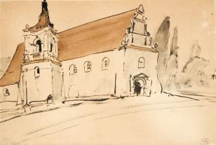 Kościół renesansowy z dzwonnicą