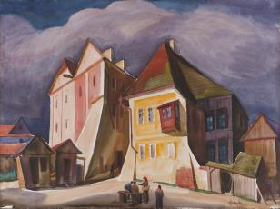 Uliczka w Kazimierzu nad Wisłą