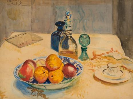 Leon Wyczółkowski, Martwa natura z owocami