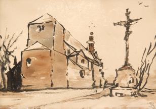 Kościółek romański