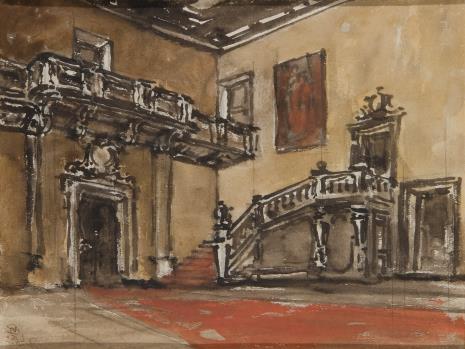 Stanisław Noakowski, Wnętrze sali pałacowej