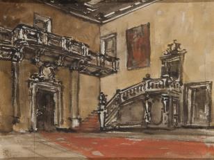 Wnętrze sali pałacowej