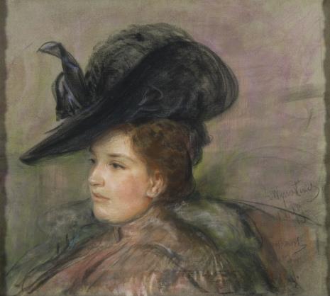 Leon Wyczółkowski, Portret młodej kobiety