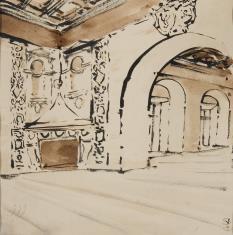 Renesansowa sala zamkowa