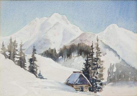 Wanda Anna Gentil - Tippenhauer, Zima w Tatrach