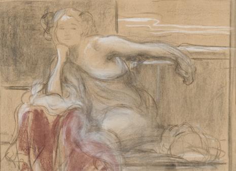 Franciszek Żmurko, Studium młodej kobiety