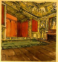 Barokowa sala teatralna