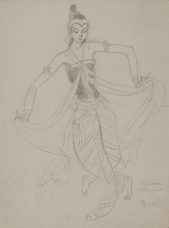 B. Z. Kander, Tancerka hinduska