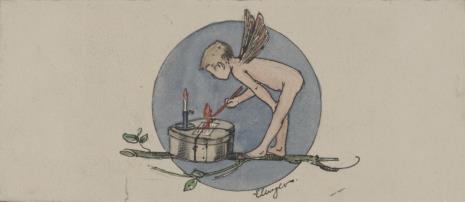 Eduard Unger, Putto lakujące list