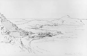 Widok z okolic Nicei - Beaulieu