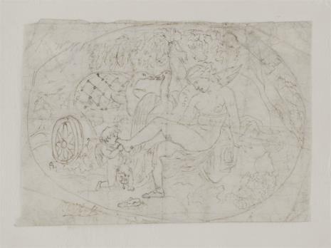 Julius Hasse, Wenus i amorek całujący jej stopę