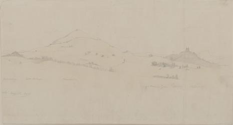 August von Wille, Widok okolic Fuldy