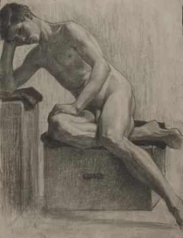 Henryk Kunzek, Akt młodego mężczyzny