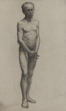 Henryk Kunzek, Akt stojącego mężczyzny
