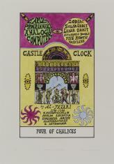 HEXEN 2.0/Tarot/Four of Chalices - Castle Clock / HEXEN 2.0/Tarot/Czwórka Kielichów - Zegar Zamkowy