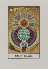 HEXEN 2.0/Tarot/Nine of Chalices – Jean-Jacques Rousseau / HEXEN 2.0/Tarot/Dziewiątka Kielichów - Jean-Jacques Rousseau