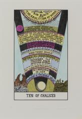 HEXEN 2.0/Tarot/ Ten of Chalices - Bob Black / HEXEN 2.0/Tarot/Dziesiątka Kielichów - Bob Black