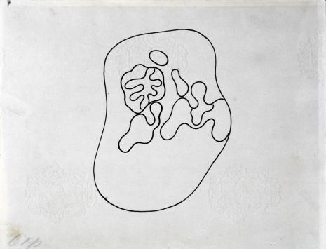 Hans (Jean) Arp, Kompozycja (rysunek 1 do tomiku poezji Jana Brzękowskiego