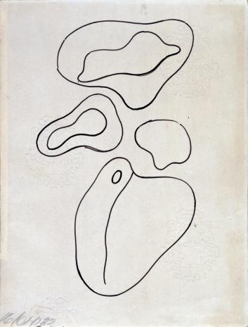 Hans (Jean) Arp, Kompozycja (rysunek 2 do tomiku poezji Jana Brzękowskiego