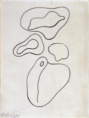 Kompozycja (rysunek 2 do tomiku poezji Jana Brzękowskiego