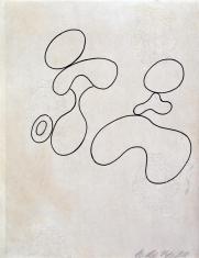Kompozycja (rysunek 3 do tomiku poezji Jana Brzękowskiego