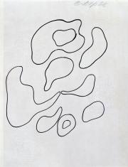 Kompozycja (rysunek 5 do tomiku poezji Jana Brzękowskiego