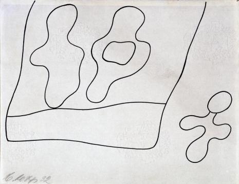 Hans (Jean) Arp, Kompozycja (rysunek 8 do tomiku poezji Jana Brzękowskiego