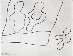 Kompozycja (rysunek 8 do tomiku poezji Jana Brzękowskiego