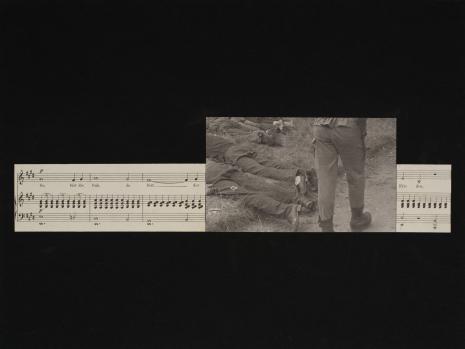Gerhard Ruehm, Du bist die Ruh (Jesteś odpoczynkiem), z serii: Geistliche Gesänge (Duchowe pieśni)