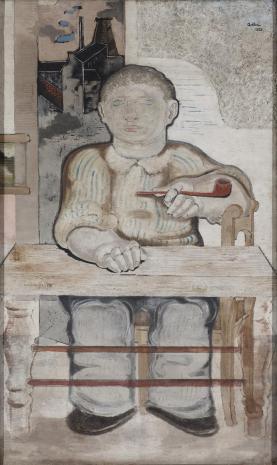 Jankiel Adler,   Młody robotnik